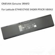 Laptop Battery Latitude 3RNFD Genuine ONEVAN E7440 DELL for E7420/E7440/E7450/.. 54wh