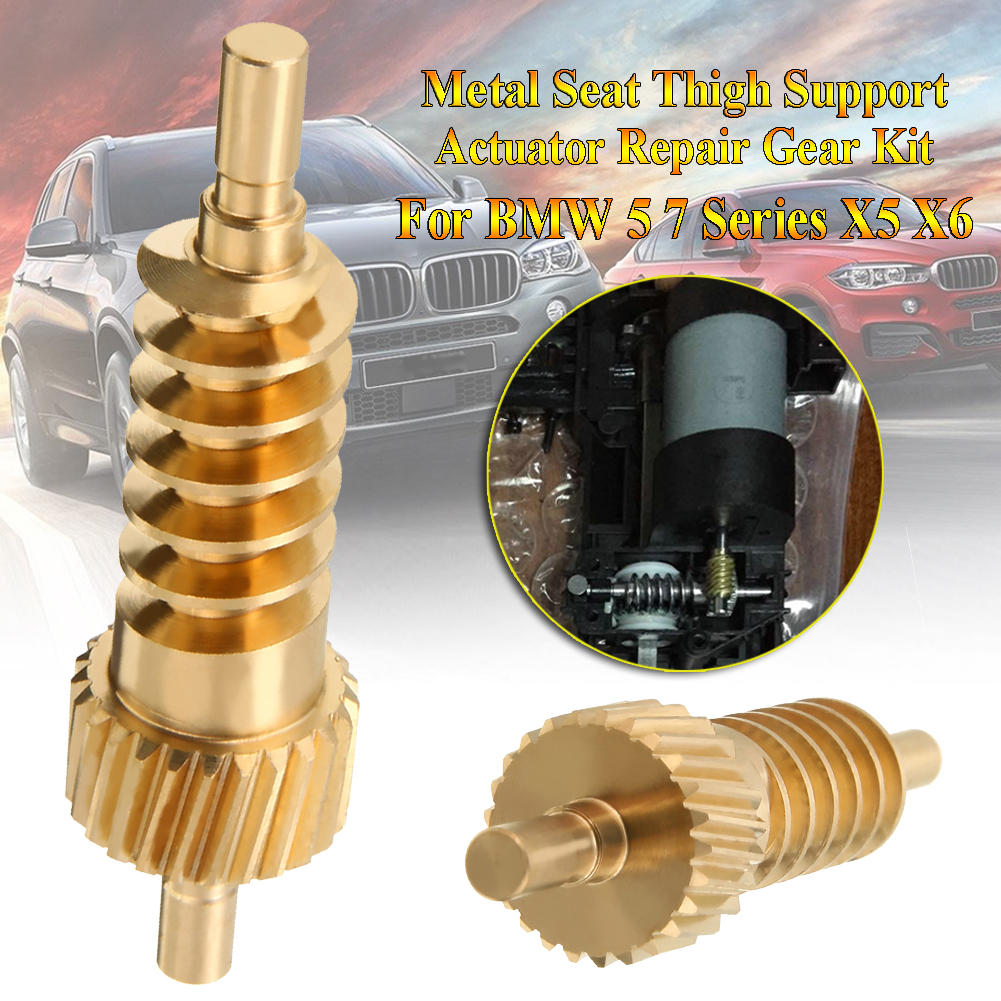 BGE544 Seat Thigh Support Actuator 52107068045 Repair Gear For BMW 5 7 Series X5 X6 Phantom Bross Auto Parts