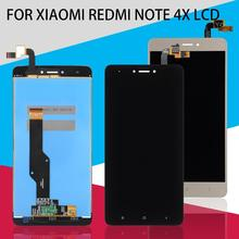 Dinamico 1Pcs 5.5inch Note 4X Lcd For Xiaomi RedMi Note 4X Display With Frame Touch Screen Digitizer Assembly Free Shipping