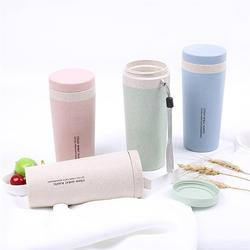 300 ML Double Layers Vacuum Flask Insulated Tumbler Thermal Bottle Environmental Seal Water Bottle For School Camping
