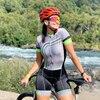 Xama ciclismo ciclismo verão skinsuit feminino manga curta bicicleta wear macacão conjunto roadbike mtb roupas ir bicicleta 15