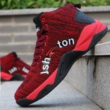 цена на High-top Basketball Shoes Men's Cushioning Professional Basketball Sneakers Men Zapatos Hombre Breathable Outdoor Sports Shoes