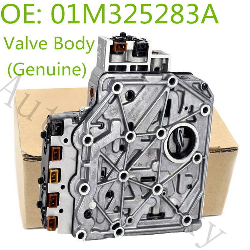 01M325283A OEM Transmission Valve Body & Cable For VW Jetta Golf MK4 Beetle 1999-2005 OE 01M-325-283-A 096927435A 01M325105F