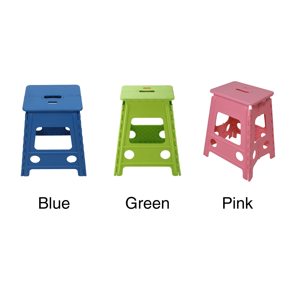 Chair Folding Step Stool Outdoor Camping Travel  Home Thickened Non Slip