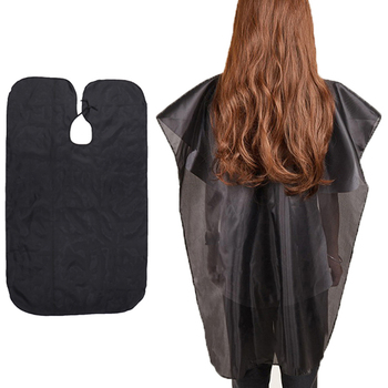 Salon Hair Cutting Cape Barber Hairdresser Hairdressing Haircut Apron Cloth image