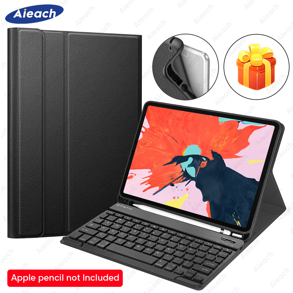 Funda For IPad Pro 11 10.5 9.7 Case Keyboard With Pencil Holder Smart Keyboard Case For IPad Pro 11 2018 Pro 10.5 2017 9.7 2016