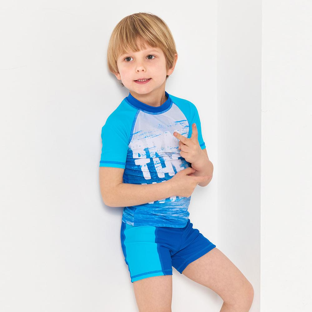 Julysand Boys Swimwear High-end Two Pieces Swimsuit Children Wave Printed  Skin Care Bathing Suit Boy Blue Beachwear - Hot Deal #9FFEEA | Cicig