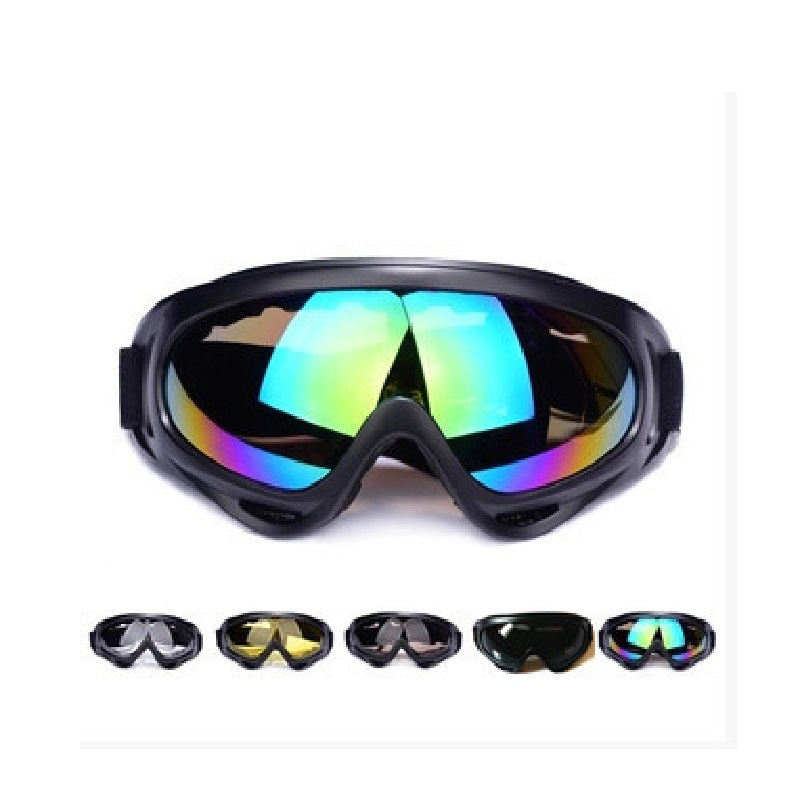 Snowboard Goggles For Men Women UV400 Protection Anti-Glare Lenses Wind Resistanc PC Lens Light Tactical Riding Skiing