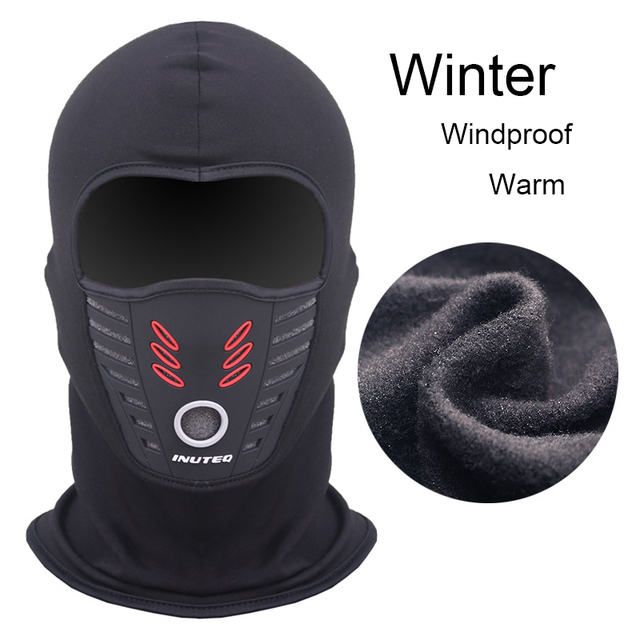 LMoDri Ridding Mask Unisex Windproof Outdoor Sports Warming Mask Hood Breathable Face Motorcycle Riding Mask Wholesale