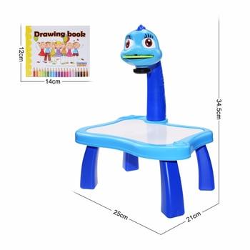 Children's LED projector, art table 6