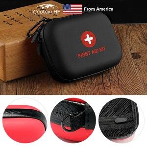 Image 2 - US Captain Estuche para botiquín de primeros auxilios, portátil viaje, medicina, paquete, bolsas de kit de emergencia, pequeño organizador divisor de almacenamiento de medicina