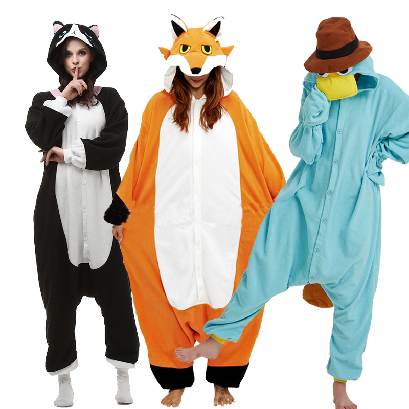 Kigurumi Xxl Dessin Anime Kigurumi Pyjamas Pour Adulte Mouton Requin Lapin Onesies Pour Halloween Une Piece Souris Pijama Polaire Pyjamas Maison Partie Aliexpress