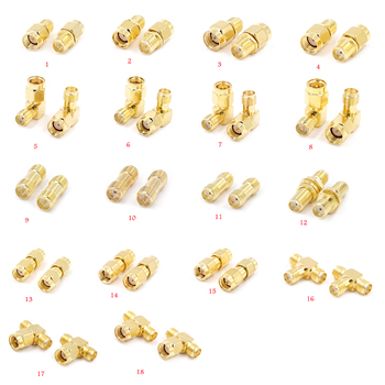 1PCS RP SMA Male Female  to RP SMA Male Female Adapter RF Coax Coupling Nut barrel Connector Converter For WIFI 4G  Antenna sale 10 pcs adapter rp sma male jack to rp sma female connector straight gold plating high quality minijack plug wire connector