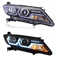 VLAND factory for car Headlight For CITY 2015 2016 2017 2018 2019 NEW Design LED Head Lamp and Turn signal+Play and Plug+DRL