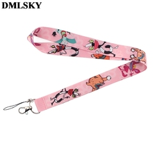 DMLSKY Krumm from Ahhh! Hopesick Monsters Keychain Lanyards for keys Badge ID Phone Rope Neck Straps Cute Lanyard M3775