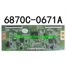 Original LG logic board 6870C-0671A = 6870C-0703A measured shipment warranty 120 days tlm3233n logic lc320wxn saa1 6870c 0195a lc320wxn used disassemble