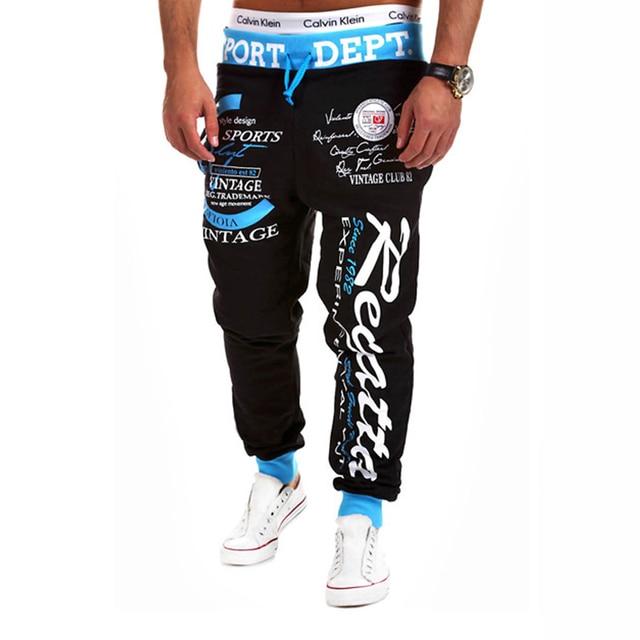 SWAGWHAT Men Pants Hip Hop Joggers Pants 2019 New Male Trousers Men Letters Printed Casual Pants Sweatpants Man Dancing wear 3