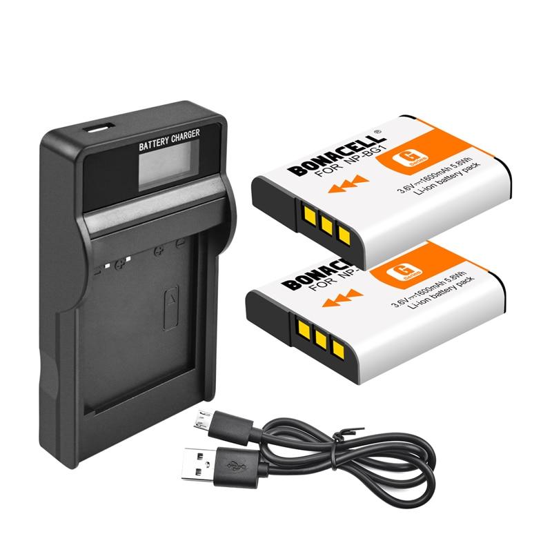 Аккумулятор и зарядное устройство с ЖК-дисплеем для Sony NPBG1 NP-BG1 NPFG1 и Cyber-Shot NP-FG1 W150 W220 DSC-W120 H7 H9 H10 H20 H50 H55 H70 Z50