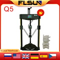 Flsun Q5 3D Printer DELTA Kossel Touch Screen TMC2208 Silent Driver Auto Leveling Resume Printing Easy Assembly 32Bit Main Board