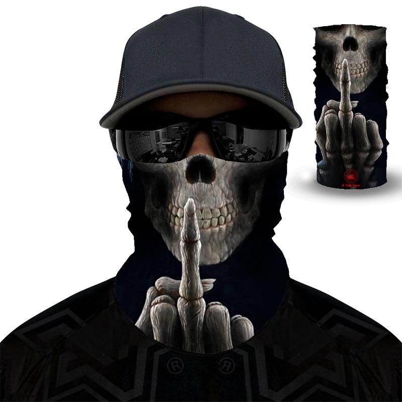 The Venom  Bike Fishing Sport Ski Seamless Headwear Skull Neck Bandanas Windproof Magic Scarf Cycling Hiking Mask Neck Gaiter
