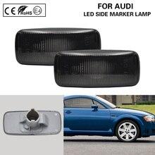 цена на 2*PCS OEM Style Smoked Side Marker Lamp light For Audi A2 A3 A4 A6 A8 TT turn signal light