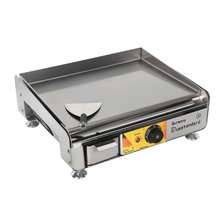 Electric Griddle Functional Stainless Steel Flat Hot Plate BBQ Grill Fried Pan Teppanyaki Breakfast Meat Mincer Cooking Kitchen 220v commercial stainless steel all flat grill griddle bbq plate electric contact grillplate
