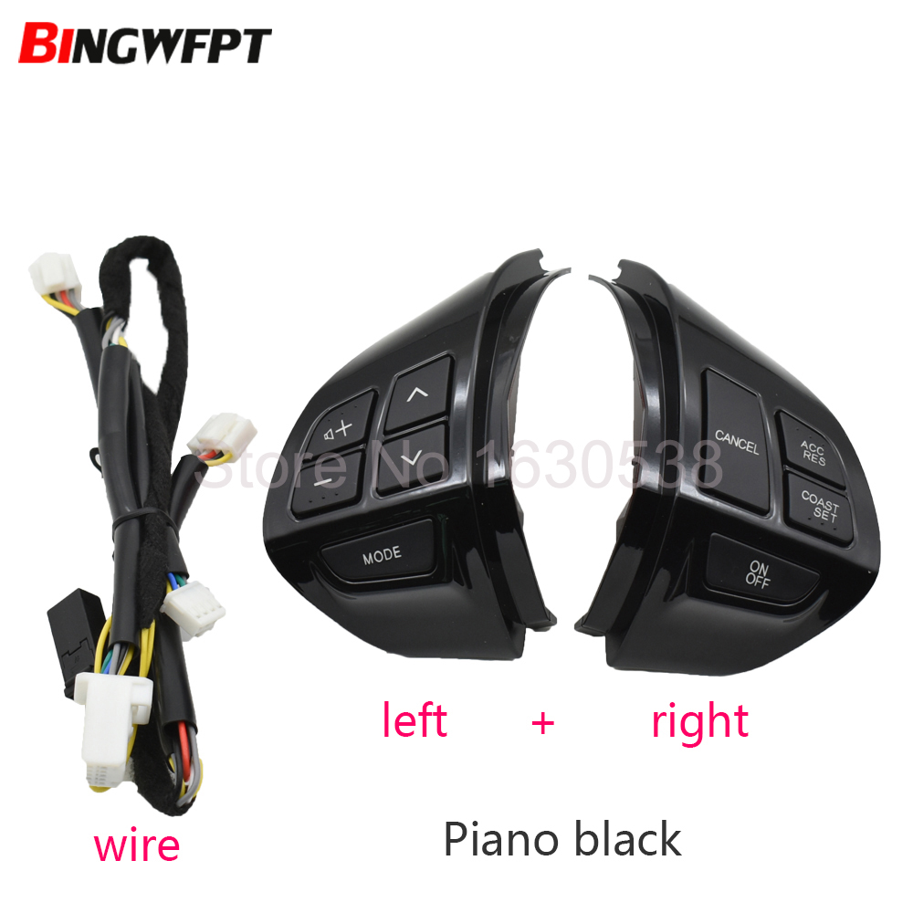 Bluetooth Phone Cruise Control steering wheel switch Auto Spare Parts steering wheel buttons for Mitsubishi Outlander 2007 2012 Car Switches & Relays     - title=