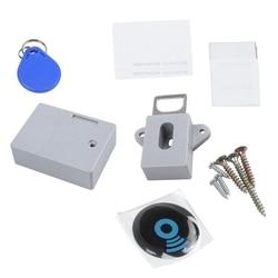 Невидимый скрытый RFID свободный открывающийся интеллектуальный датчик замок шкафчика шкаф ящик обувного шкафа дверной замок электронный Т...