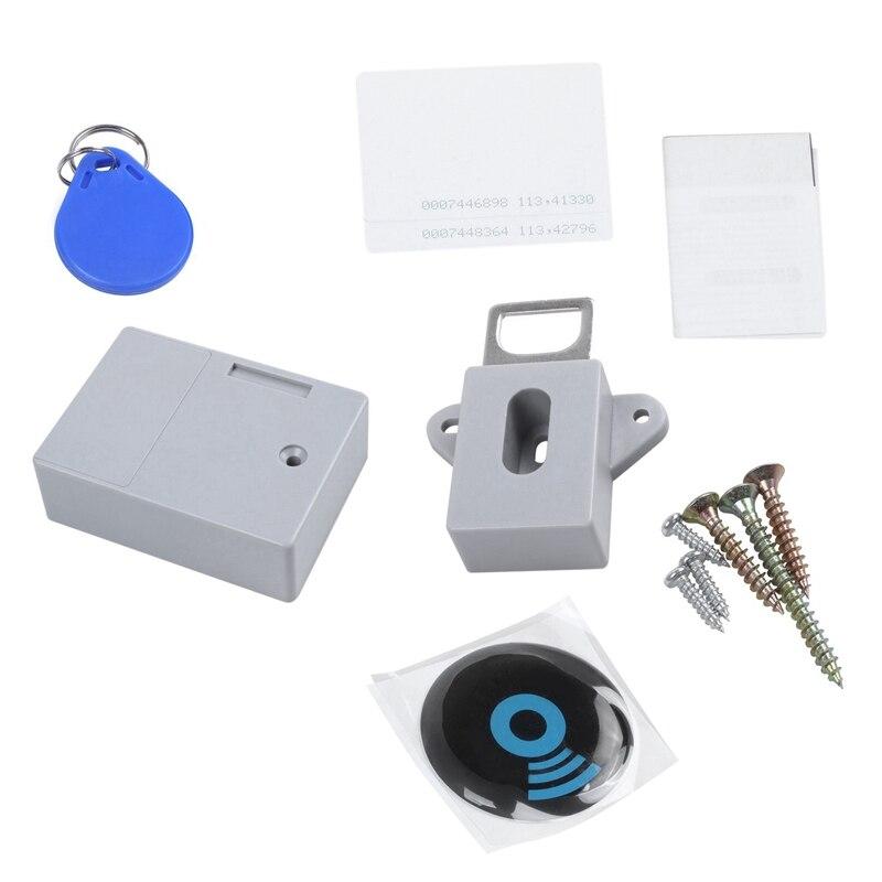 Invisible Versteckte RFID Freies Öffnung Intelligente Sensor Schrank Sperre Locker Schrank Schuh Schrank Schublade Türschloss Elektronische Dark