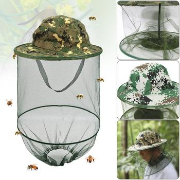 Outdoor Survival Anti Mosquito Bug Bee Insect Mesh Hat Head Face Net For Fishing Hunting Hiking Walking Protector Equipment 2020 fishing cap anti mosquito insect hat fishing hat bug mesh head net face protector camping hats fishing cap outdoor