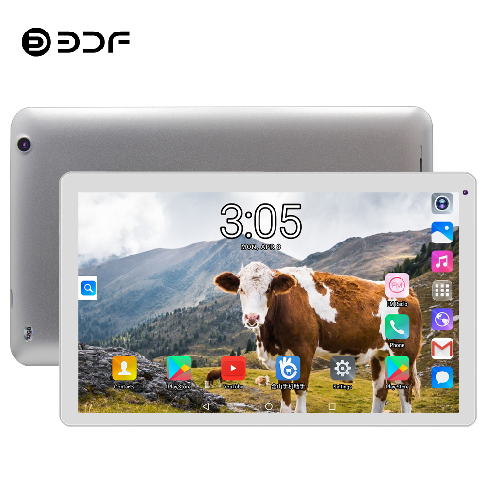 BDF Tablet 10 Inch Android 5.1 Tablet Pc 1024*600 LCD Quad Core 1GB RAM 32GB ROM Mini Computer Android Tablet WiFi Tablets 10