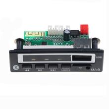 MP3 블루투스 오디오 디코더 모듈 USB TF FM 라디오 MP3 WMA WAV 플레이어 음악 무선 수신기 디코딩 보드 자동차 액세서리