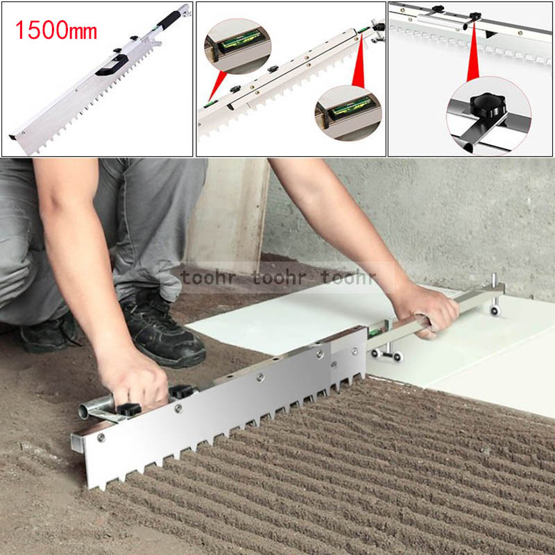 2306.38руб. 45% СКИДКА|1500 мм Плитка плоская золь устройство плоский песок выравнивание плитки Тротуарная Плитка инструмент артефакт складной|Наборы ручных инструментов| |  - AliExpress