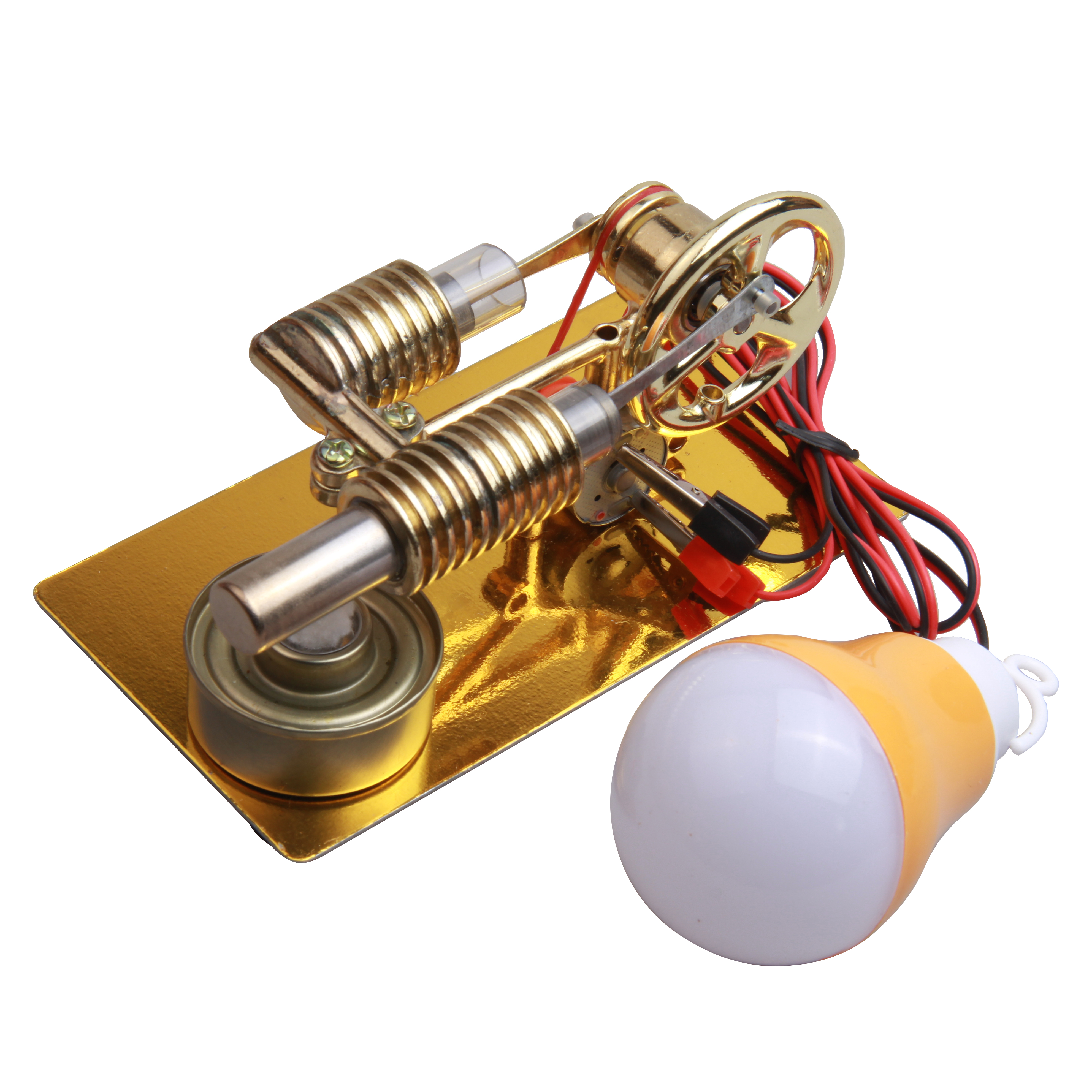 Mini Stirling Engine External Combustion Engine Microgenerator Birthday Present Steam Engine Model Science And School Education
