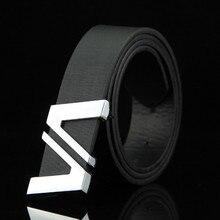 PU Leather Mens Belts Automatic Buckle Fashion For Men Business Popular Male Brand Black Luxury Waist Belt for men
