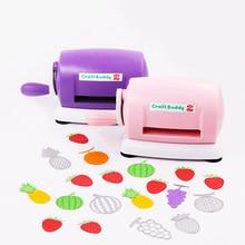купить Craft Punch Paper Cutting Embossing Machine Hole Puncher Scrapbooking Handmade Paper Cutter DIY Tools Kids Gifts Office Supplies дешево