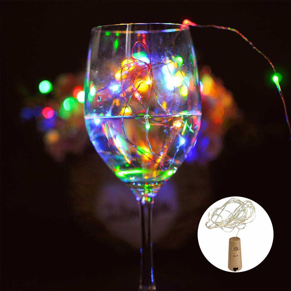 Led Light String Koperdraad Licht Huis Decoratieve Lamp Holiday Wedding Kerst String Lights Creative Decoratie Licht