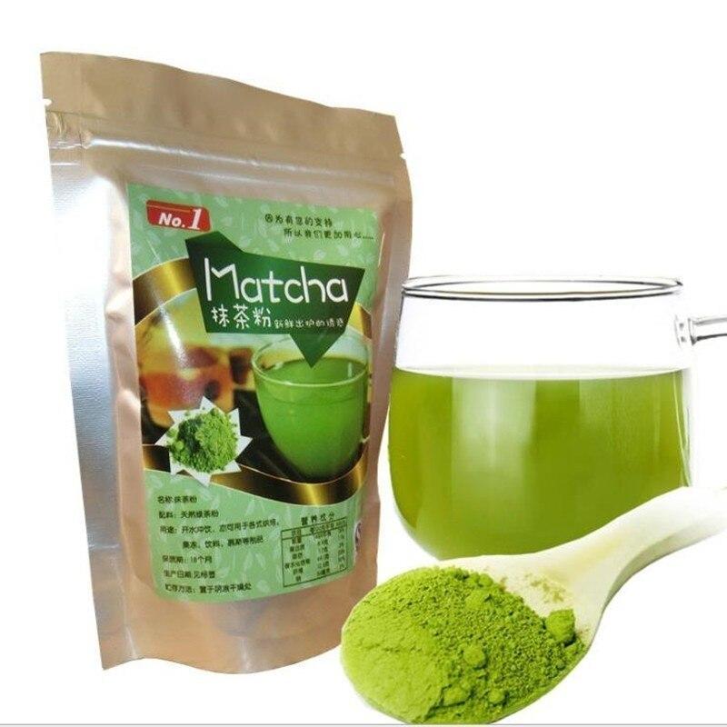 80g * 5 pces = 400g orgânico matcha verde chá em pó para sobremesa pastelaria sorvete cozimento