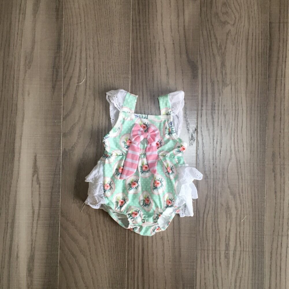Baby Girls Clothes Girl Summer Floral Romper Baby Kids Toddler Romper