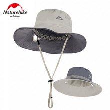 Naturehike – chapeaux de randonnée réversibles, protection solaire d'extérieur, chapeau de pêche, pare-soleil, respirant, doux, Portable, pliable