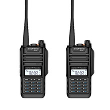 2 Pcs Walkie Talkie Baofeng BF A58 Two Way Radio IP68 Waterproof Dual Band VHF UHF 128CH Handheld Ham CB Radio FM Transceiver