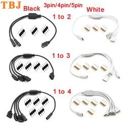 3-контактный 4-контактный 5 Pin RGB светодиодный удлинитель соединительный кабель с разъемом кабеля отклонения в размерах на 1-2/ 1-3/для детей от 1 ...