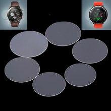 Protecteur d'écran en verre trempé rond universel, pour montres intelligentes, accessoires