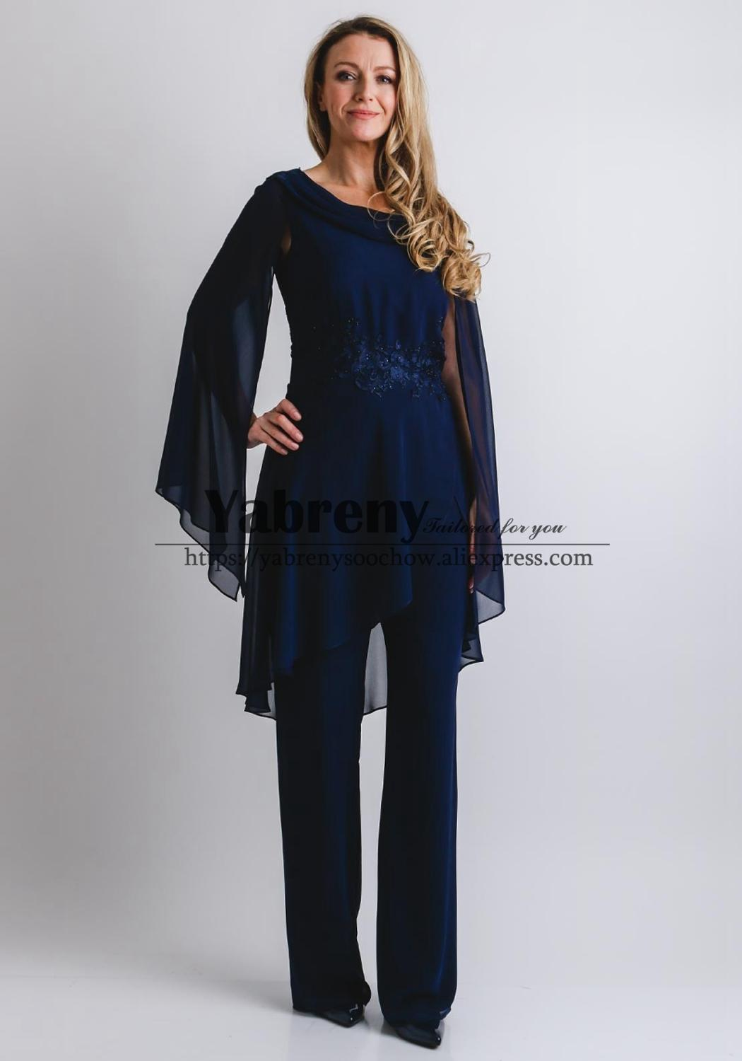 Glamorous Mother Of The Bride Jumpsuit Navy New Arrival