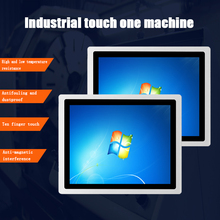 10.4-inch core I3 embedded industrial computer capacitive touch screen integrated host minipc Android win8 operating system
