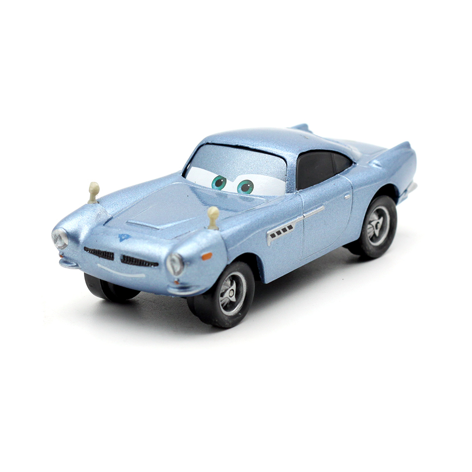 Cars Disney Pixar Cars Finn McMissile Metal Diecast Toy Car 1:55 Loose Brand New In Stock Disney Cars2 Cars3 For Kid Boy Gift