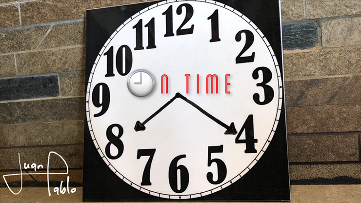 2020  ON TIME By Juan Pablo Magic Instructions  Magic Trick