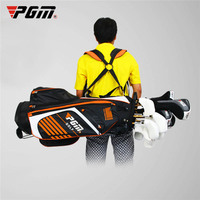 PGM 90*28CM Portable Golf Stand Bag Golf Bags with Stand 14 Sockets Multi Outdoor Sport Pockets Standard Bag with Shoulder Strap