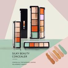 5 Color Concealer Cream Contour Full Cover Face Makeup Facia