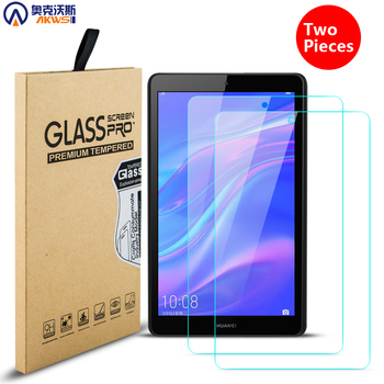 Tempered Glass for Huawei Mediapad M5 Lite 8 M3 Lite 8 Screen Protector for Mediapad T3 7 T3 8 T3 10 Tablet Film 2 Packs фото